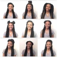 Box Braid Hair Style 10 easy box braid hairstyles halfup halfdown youtube 1024 by wearticles.com