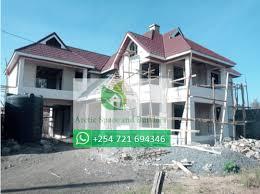 4 bedroom maisonette house plan nakuru