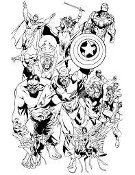Small Picture Avengers Thor Coloring Pages GetColoringPagescom