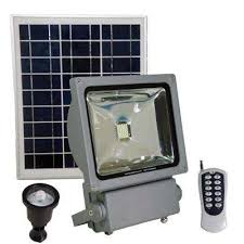 100 watt super bright 30 motion activated grey outdoor integrated led solar power flood security