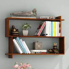 wooden wall shelves in india