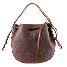 Paisley Bag Designer Etro Paisley Print Shoulder Bag