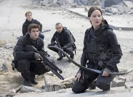 the final installment of the hunger games saga opens today and like the previous films mockingjay part 2 is largely faithful to suzanne collins novels