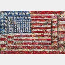 drawn american flag jasper johns 13