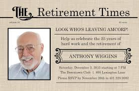 Free Retirement Announcement Flyer Template Retirement Flyer Template Free Printable Retirement