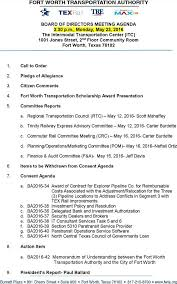 Download Board Of Directors Strategy Meeting Agenda Template