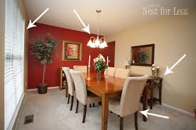 dining room red paint ideas. dining room paint ideas with accent wall plain red e