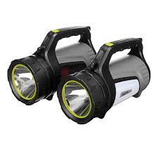 Hand Held Search Light 100w 1000lm 9800mah Super Bright Handheld Usb Rechargeable Search Light Led Work Light