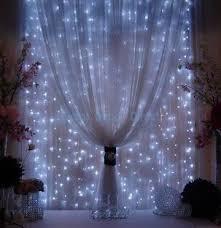 diy wedding reception lighting. DIY Wedding Ideas String Of Lights Behind Sheer Curtains! Diy Reception Lighting
