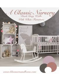 pink nursery furniture. White \u0026 Gray Nursery Furniture Pink