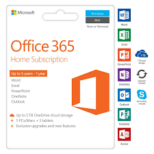 Microsoft Office 365 Pricing Microsoft Office 365 Home 5 Devices 1 Year