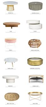 12 best round coffee tables sarah sherman samuel