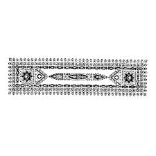 クリミア風装飾帯文様pop広告用ベクターイラスト素材集 Hand Drawn