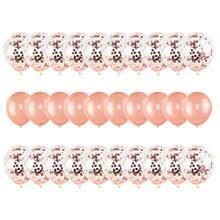 30 шт./компл. 12 дюймов <b>розовое</b> золото <b>воздушный шар &quot</b> ...