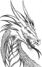 Drawing Of Dragon Free Printable Coloring Pages For Kids Dragons