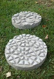 how to make diy garden stepping stones