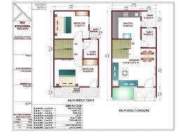 20 x 40 duplex house plans north facing sea for 20 40 duplex house plan