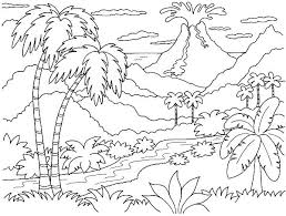 coloring pages of nature coloring pages nature scenes coloring