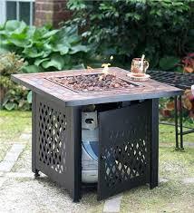 propane patio fire pit. Unique Patio Outdoor Fire Pit Table Propane Patio Pits Incredible  Designs Regarding 5 Parts And E