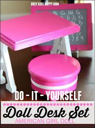 How to make your own American Girl Doll Furniture