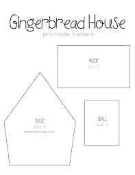 Gingerbread House Patterns Classy Gingerbread House Template Recipes To Cook Pinterest House