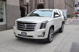 cadillac escalade 2015 white. used 2015 cadillac escalade premium chicago il white l