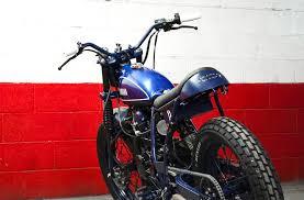 blitz motorcycles yamaha tw 125 blue tracker