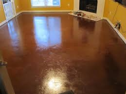 Decor Tipsnting Cement Floors With Concrete Stain Lowes For ...
