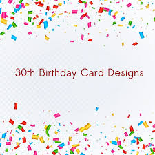 6 30th Birthday Card Designs Templates Psd Ai Free