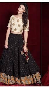 Designer Long Skirt Dresses Lovely Cotton Chaniya Choli Long Skirt Outfits Indian