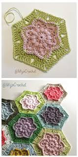 Hexagon Crochet Pattern Enchanting Free Hexagon Crochet Patterns