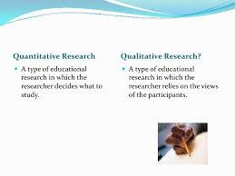 quantitative and qualitative research quantitative