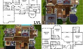 floor plans also sims house blueprints