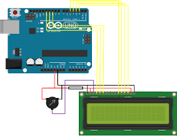 arduino lcd wiring diagram arduino image wiring lcd screen connection to an arduino the diy life on arduino lcd wiring diagram