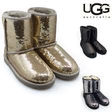 UGG Ugg Classic short sparkles Classic Short Sparkles boots 3161 3353    CHAMPAGNE 02P01Oct16