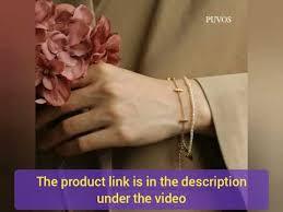 <b>PUVOS Ladies</b> Keep Color Vacuum Electroplating <b>Fashion</b> Simple ...