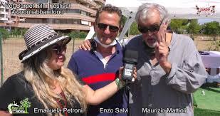 Emanuela Petroni - Emanuela Petorni con Enzo Salvi e Maurizio Mattioli  #iononliabbandono - Pet Carpet Film Festival (3)
