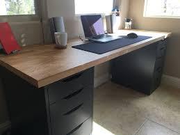 stylish office desk setup. Ikea Desk Setup Stylish My Set Up Picture Office