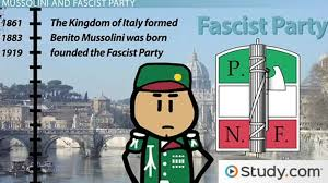 the rise of benito mussolini and italian fascism facts timeline  the rise of benito mussolini and italian fascism facts timeline video lesson transcript com