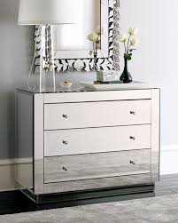 mirrored furniture decor. Captivating Furniture For Bedroom Decor With Modern Mirrored Dresser And Chest : Delectable Image Of D