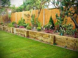backyard flower garden. Raised Beds Inside Fence\u2026love The Look Of This. @ Do It Yourself Home Backyard Flower Garden