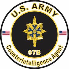 U S Army Mos 97b Counterintelligence Agent