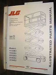 jlg e e e e e parts manual book electric jlg 1532e2 1932e2 2032e2 2646e2 3246e2 parts manual book electric scissor lift