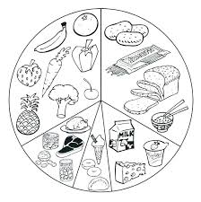 Meal Coloring Pages At Getdrawingscom Free For Personal Use Meal