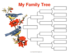 4th Generation Pedigree Chart 4 Generation Family Trees