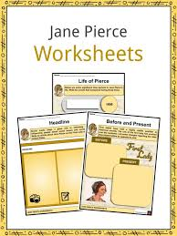 Jane Pierce Facts, Worksheets, Early Life & Education For Kids