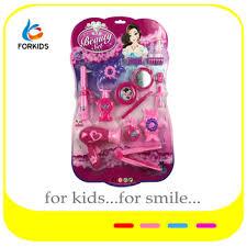 fashion gilrs beauty salon play set toys kids plastic toy makeup set for pretend
