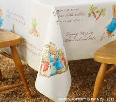 Peter Rabbit Tablecloth