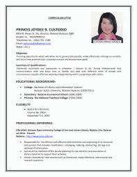 Job Resume Examples For Students Resume Sample First Job Resumes Examples For Students 11