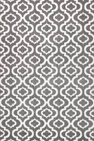 summit h27 modern gray trellis area rug 2 x3 gray